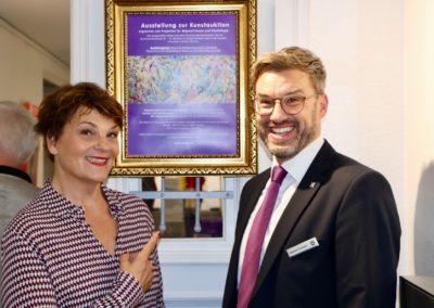 Gayle Tufts und Michael Eismann
