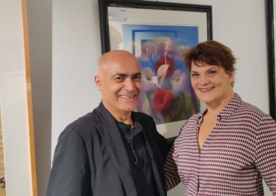 Kani Alavi und Gayle Tufts