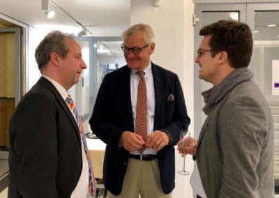 Propst Christian Stäblein, Christhard-Georg Neubert und Hannes Langbein